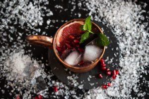 Drink mit Granatapfel