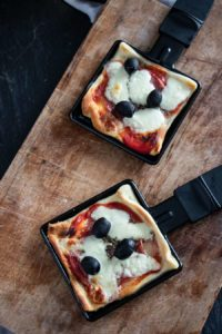 Mini Raclette Pizza
