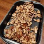 Pilze drauf geben