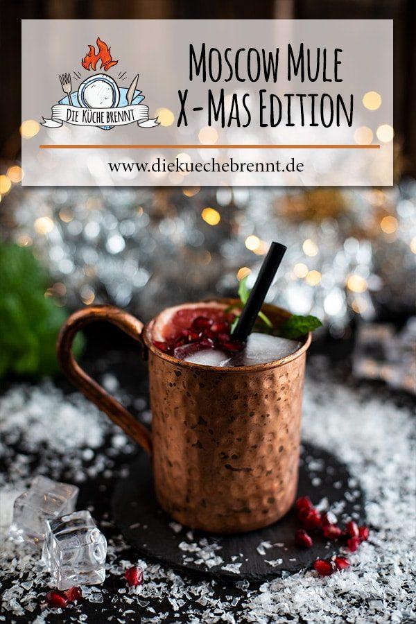 Weihnachtlicher Drink Rezept - Moscow Mule Xmas Edition