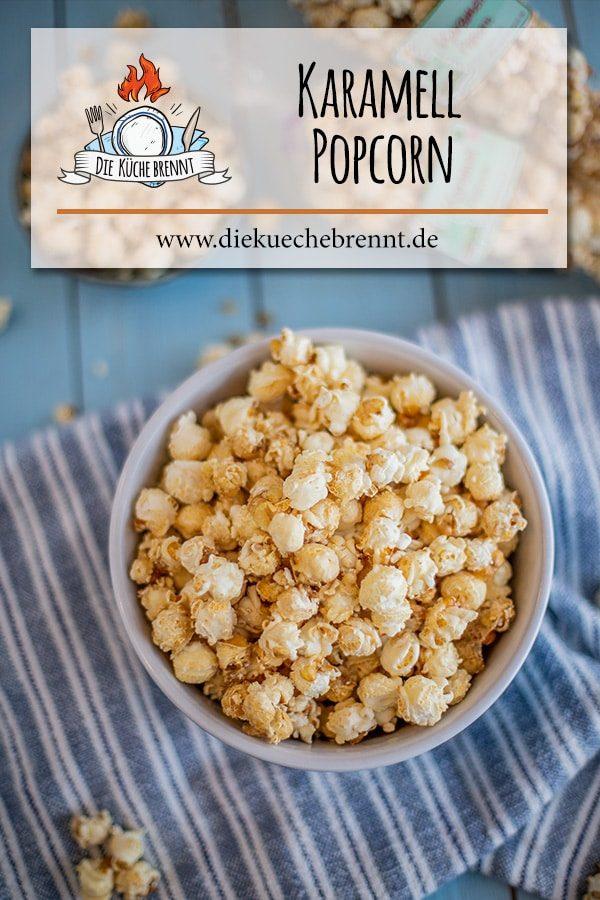 Karamell Popcorn Rezept - einfach selber machen