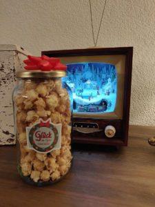 Popcorn im Glas verschenken