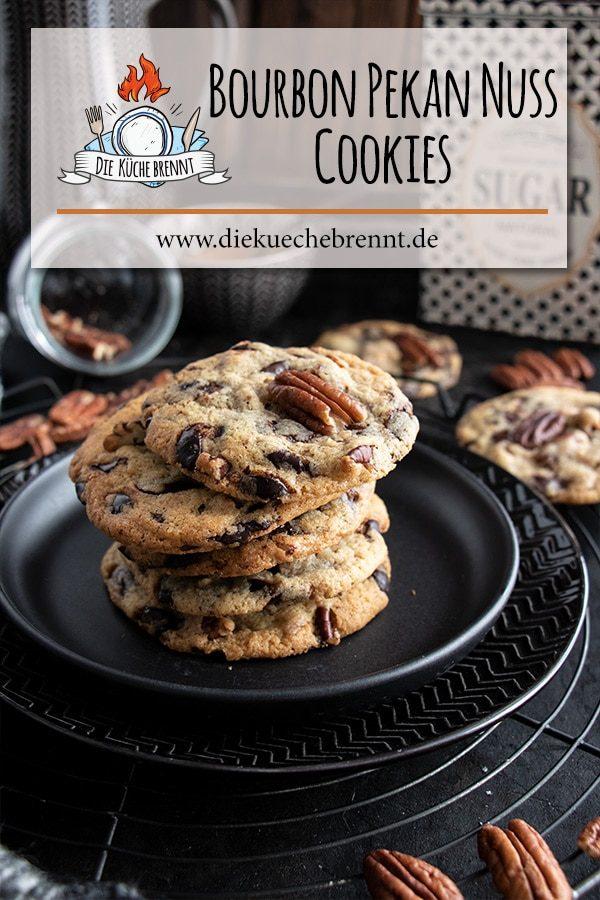 Bourbon Pekan Nuss Cookies Rezept