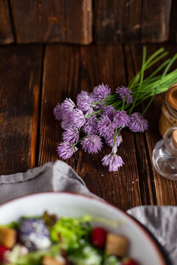 Schnittlauch Blüten