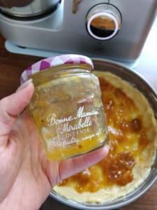 Marmeladenschicht dazu