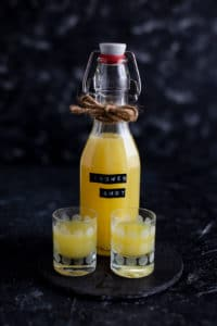 Gesunder Immunsystem Kick Ingwer Zitronen Drink