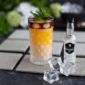 Fruchtig Süßlicher Drink mit Maracuja und Batida de Coco