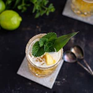 Tequila Drink Süßlich-fruchtiger Mai Tai Margarita Cocktail Rezept