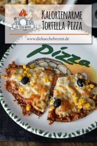 Kalorienarme Tortilla Pizza Rezept
