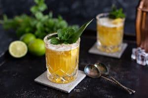Tequila Mischen Süßlich-fruchtiger Mai Tai Margarita Cocktail Rezept