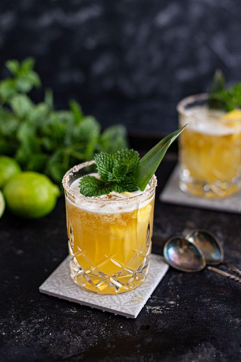 Tequila Cocktails – Süßlich-fruchtiger Mai Tai Margarita Cocktail Rezept