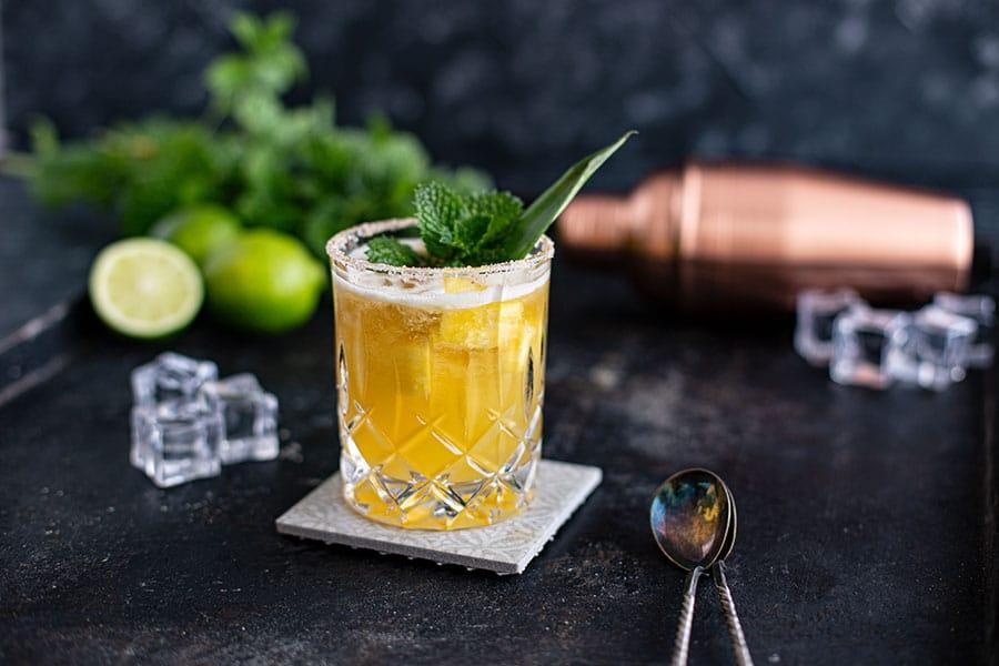 Tequila Drink - Süßlich-fruchtiger Mai Tai Margarita Cocktail Rezept