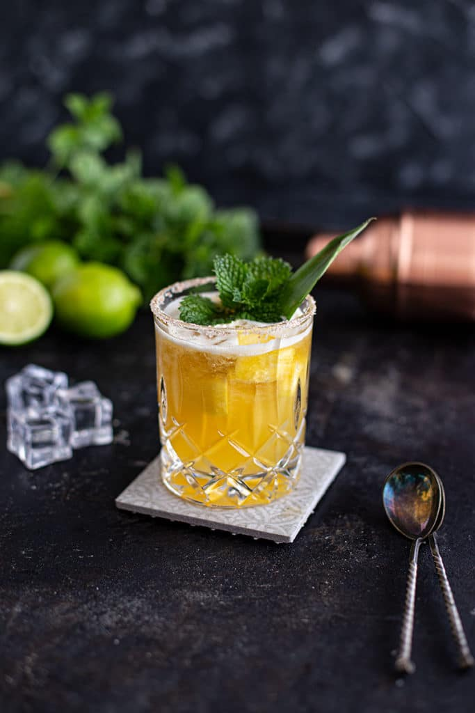 Süßlich-fruchtiger Mai Tai Margarita Cocktail Rezept