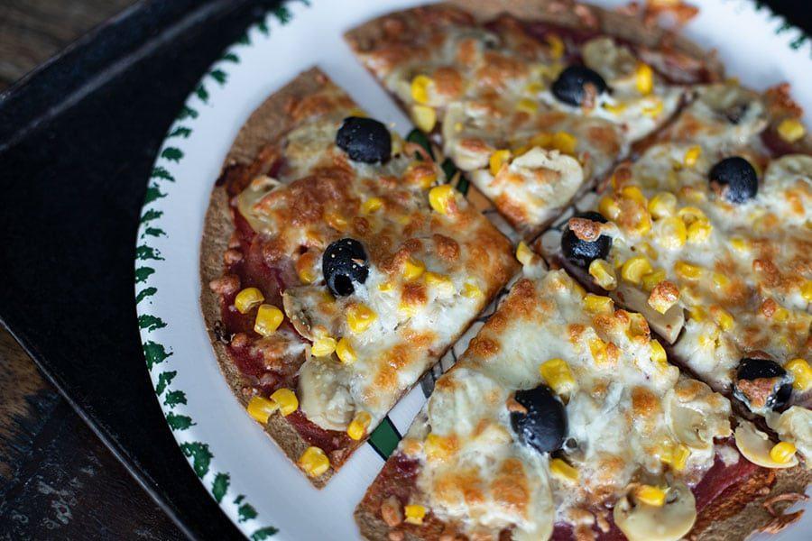 Wrap Pizza Rezept - einfach & schnell