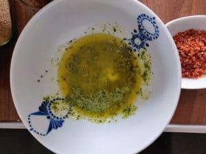 Öl-Butter Mischung für Brötchen