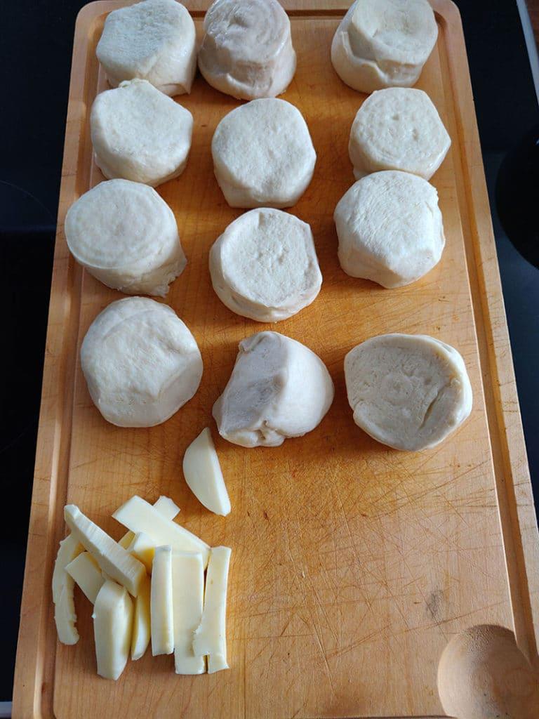 Aufbackbrötchen für Brotkranz