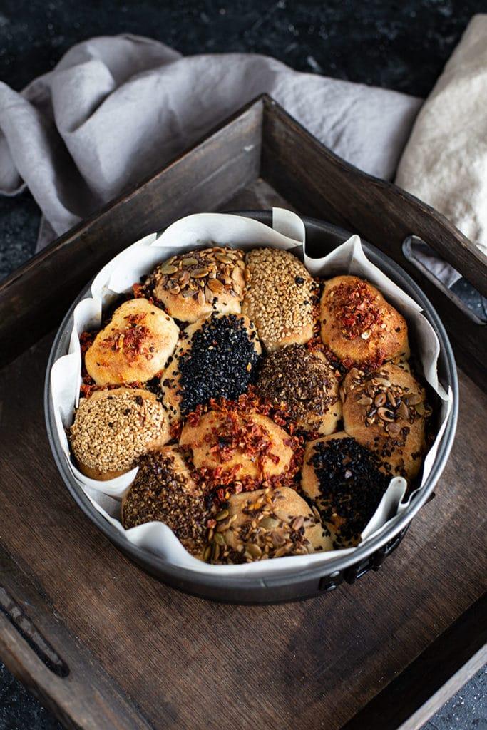 Brötchensonne Rezept – Mini Partybrötchen selber machen