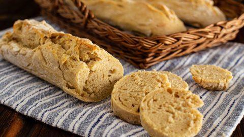 Weißbrot Rezept mit Hartweizengrieß - fluffiges Ciabatta backen