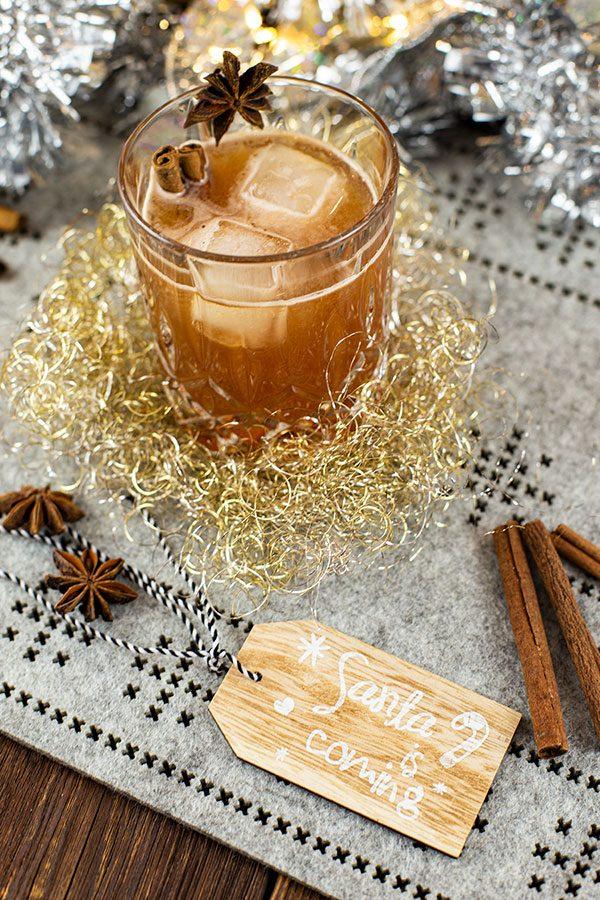 Vanilla Chai Old Fashioned – Weihnachtsdrink Rezept