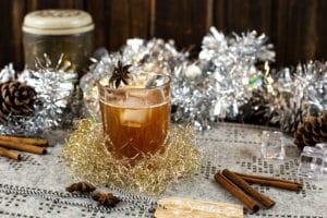 Vanilliger Weihnachtsdrink