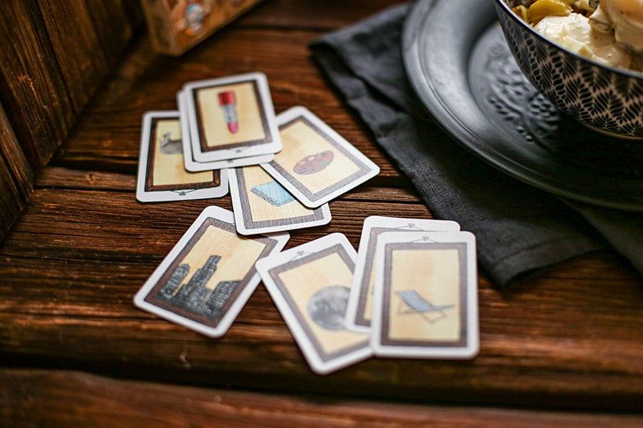 Verschiedene Karten