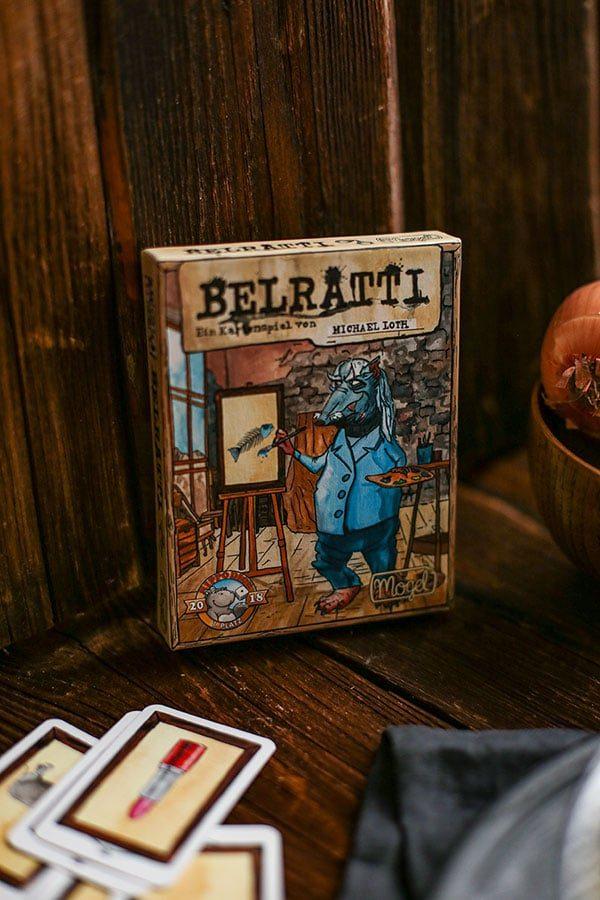 Brettspiel Belratti Kartenspiel