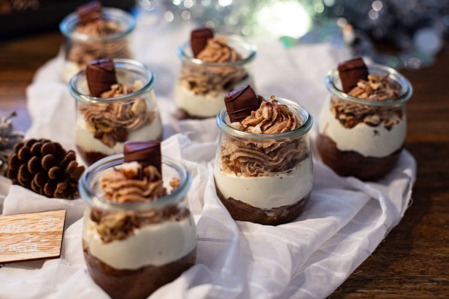 Dessert im Glas Creme