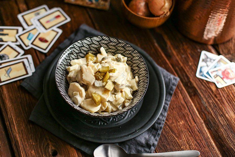 Essiggurken Kartoffeln Rezept