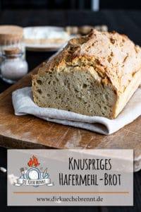 Knuspriges Hafermehl Brot