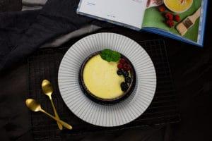 Dessert aus dem Backofen