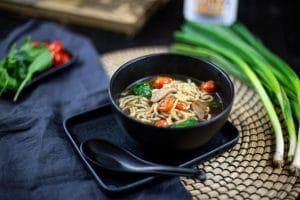 Japanische Suppe