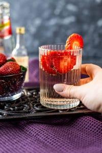 Lillet Wild Berry Drink