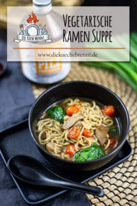 vegetarische Ramen Suppe
