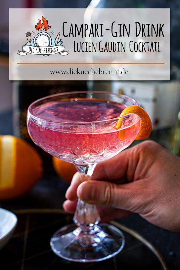 Lucien Gaudin Cocktail shortdrink
