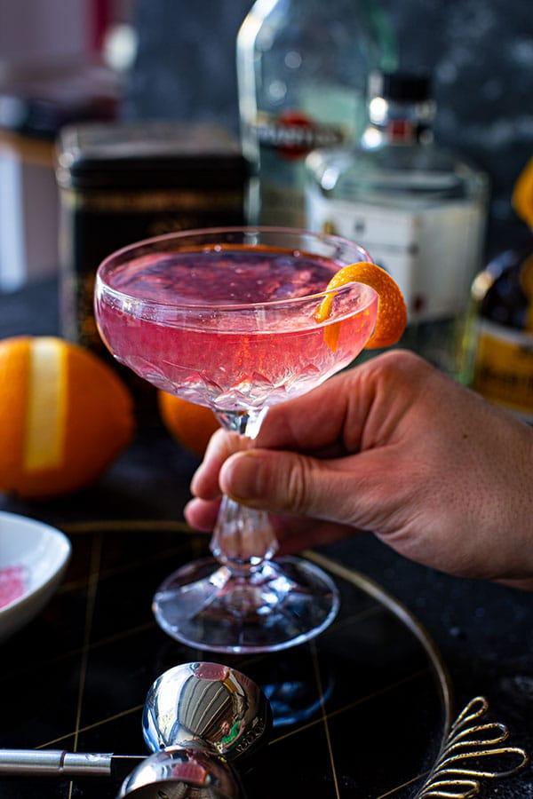 Lucien Gaudin Cocktail Rezept - mit Campari Perlen aus dem Perlino - Die