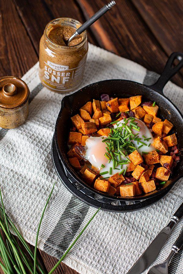 Eier Speck Frühstück