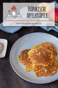 Fränkische Apfelpfannkuchen Rezept