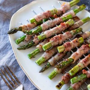 instagram 3 gegrillter spargel mit bacon