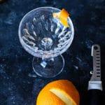 Orangen Zesten mit dem MIcroplane Bartool