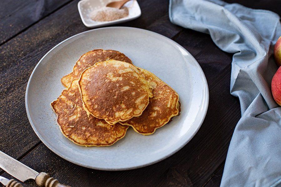 Pancakes Apfel Rezept