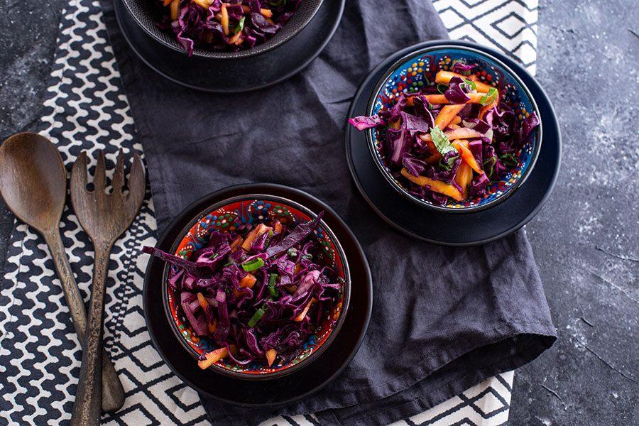 Ideen für Grillsalate mit Kohl