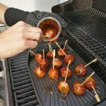 Balls in BBQ Sauce tunken