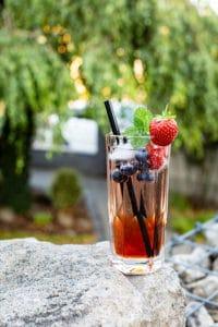 Beeren Rose Drink