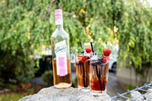 cocktail drink mixen rose wein