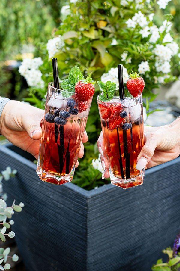 Rosewein Cocktail Rezept