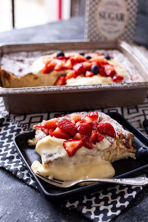 Süßes Frühstück mit Grieß