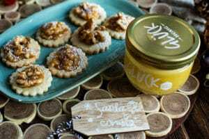 Honig Nuss Kekse