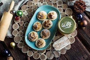 Kekse Rezept mit Honig und Nuss