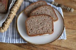 Brotanschnitt Emmerkrusten