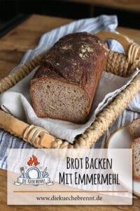 Brot backen mit Emmermehl